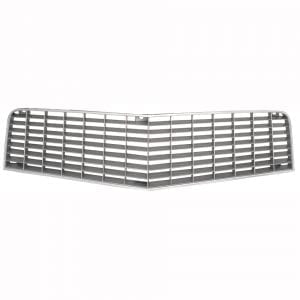 1974-1977 Chevy Camaro Grille Upper Gray