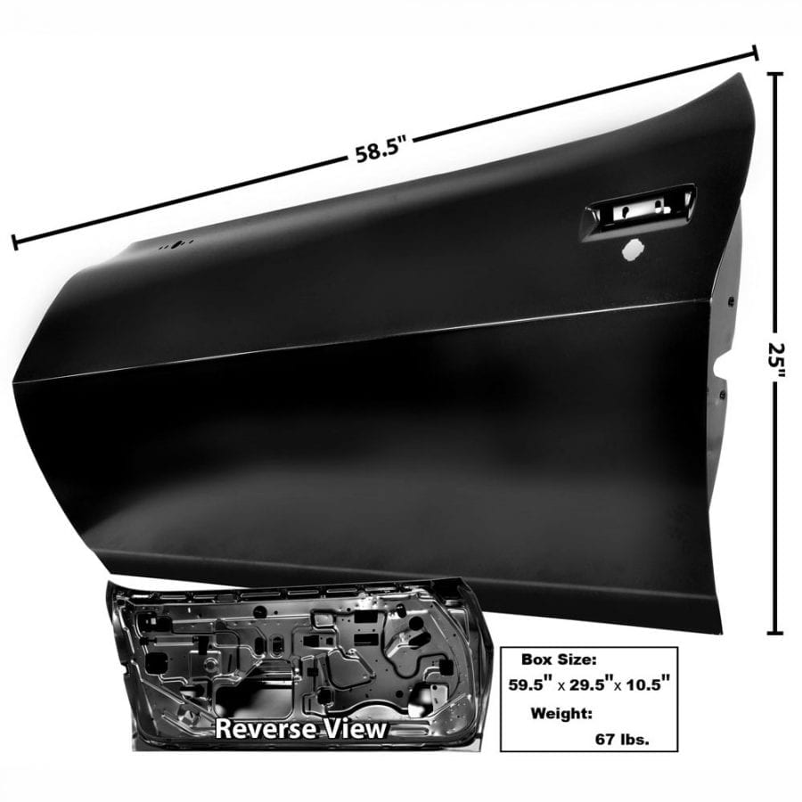 1975-1981 Chevy Camaro Door Shell Driver Side (LH)