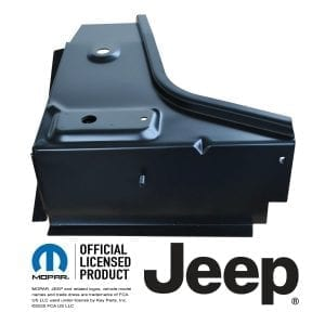 1976-1995 JEEP CJ7 AND YJ WRANGLER FRONT-FLOOR-SUPPORT-PASSENGER-SIDE