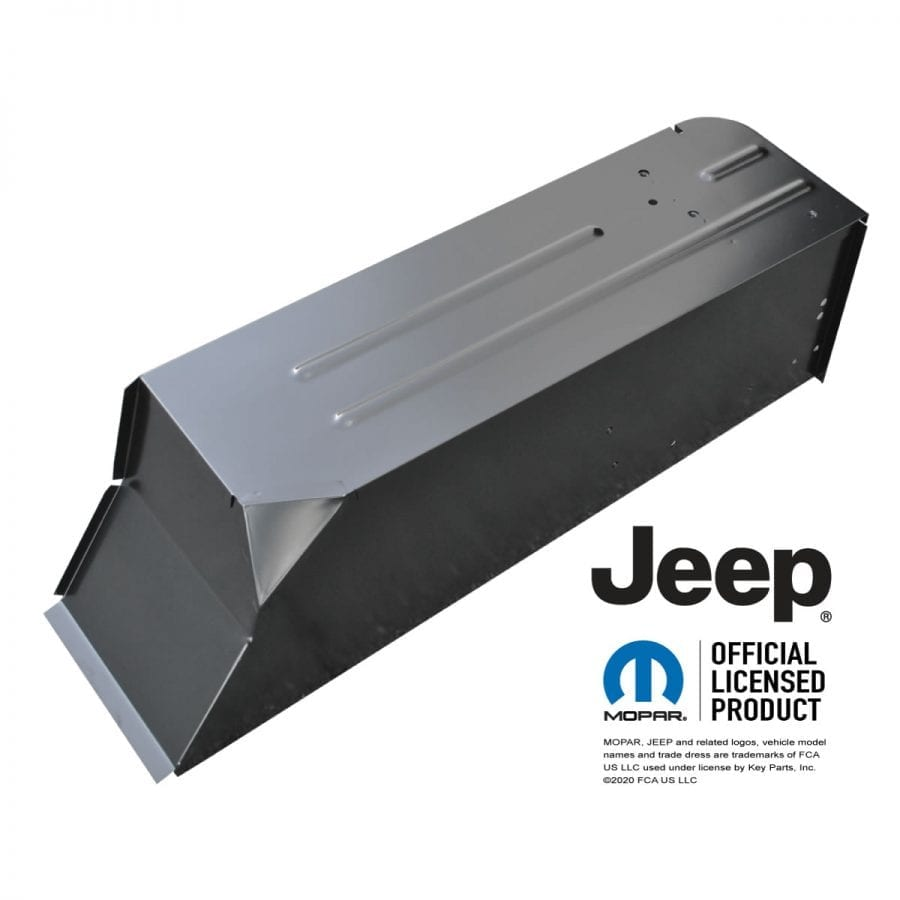 1976-1995 Jeep CJ7 and YJ Wrangler Rear Wheel Tub Passenger Side