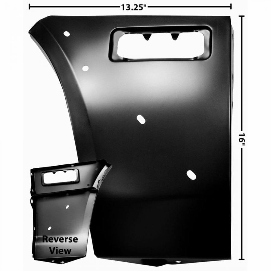 1978-1981 Chevy Camaro Fender Extention Passenger Side (RH) Std/Z28
