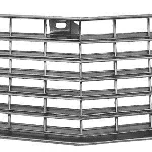 1980-1981 Chevy Camaro Grille Upper Argent