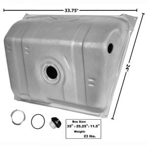 1982-1989 Chevy Camaro Gas Tank 14 Gal with Pan In Tank