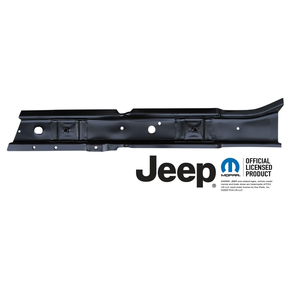 Driver Side 1997-06 Jeep TJ Wrangler Front Floor Pan