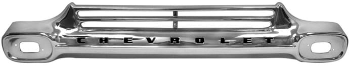 GM Pickup Chrome Grille w Black Lettering image .jpeg