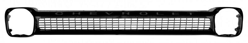 Chevrolet Pickup Black Grille Steel w Lettering image .jpeg