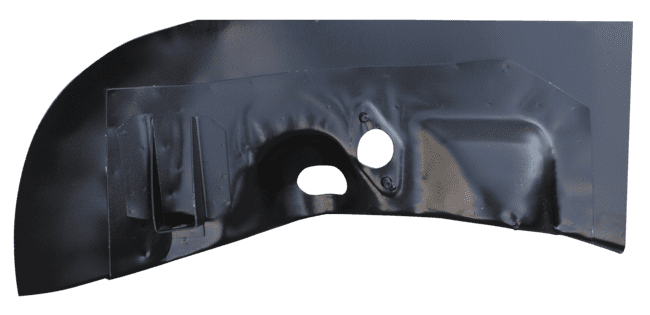 VOLKSWAGEN BEETLE SUPER BEETLE FRONT SECTION REAR INNER WHEEL HOUSE DRIVERS SIDE image .png