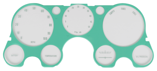 C Pickup Instrument Bezel Lens with Tach without VAC image .png