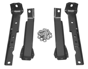 GM Shortbed Pickup Rear Bumper Brackets w Leaf Springs WD WD image .jpeg
