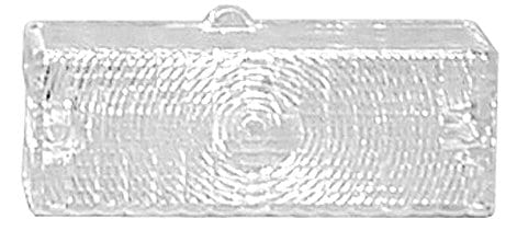 ChevyGMC Park Lamp Lens Passenger Side Clear image .tiff