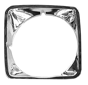 Chevy Chrome Headlight Door Passenger Side image .tiff