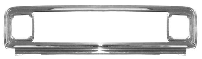GM Pickup Chromed Steel Grill Outer Frame image .jpeg