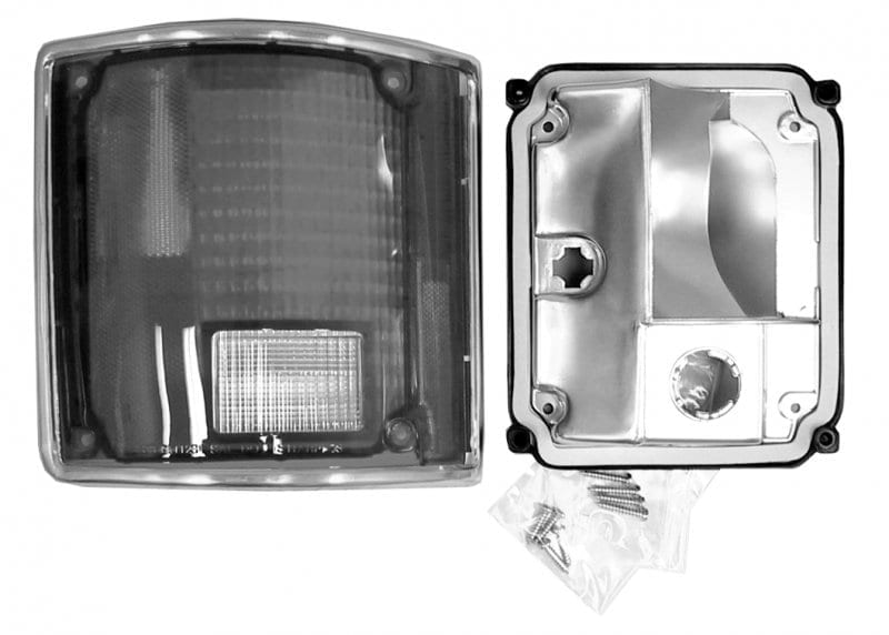 GM PickupBlazerJimmy Tail Lamp wChrome Trim Passenger Side image .tiff