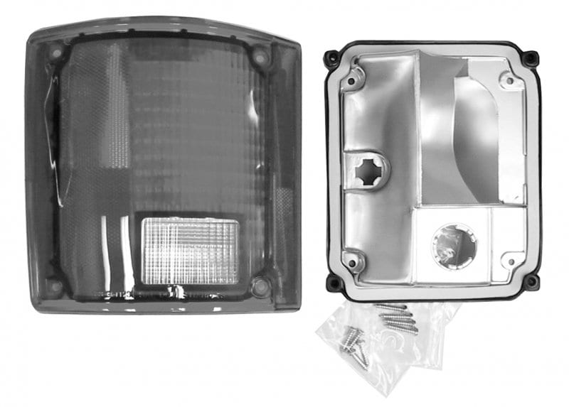 GM PickupBlazerJimmy Tail Lamp wo Chrome Trim Passenger Side image .tiff