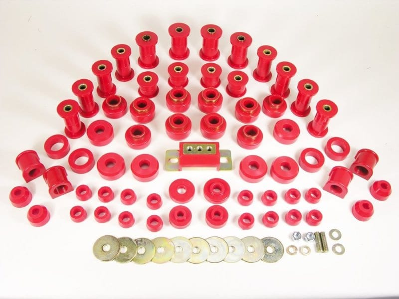 Jeep Wrangler Total Bushing Kit w Trans Mount image .tiff