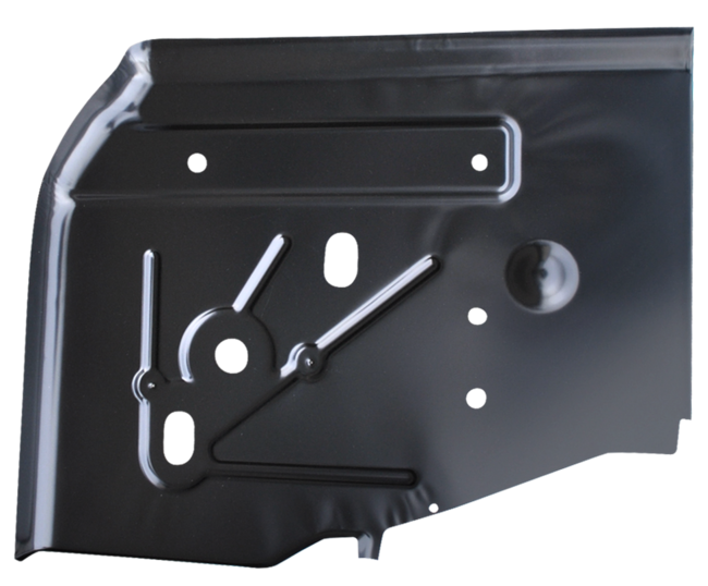Jeep Wrangler Rear Floor Pan Front Section Passenger Side image .png