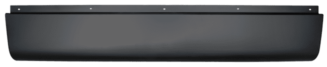 Chevy Silverado Fleetside Pickup Rear Roll Pan wo License Plate image .png