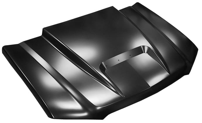 Chevy Avalanche Ram Air Style Hood w Body Side Cladding image .jpeg