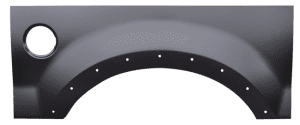 Ford F Light Duty Upper Rear Wheel Arch Fleetside Only With Molding Holes Driver Side image .png
