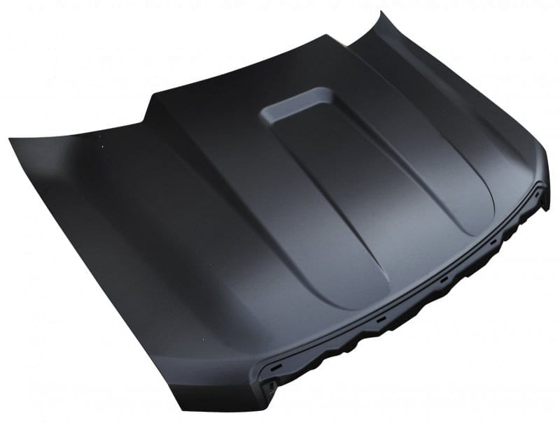 Ford F Light Duty Cowl Induction Style Hood Image on 1989 Dodge Dakota Door Seals