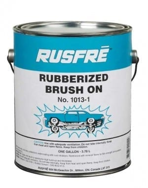 Rusfre Brush On Rubberized Undercoatin