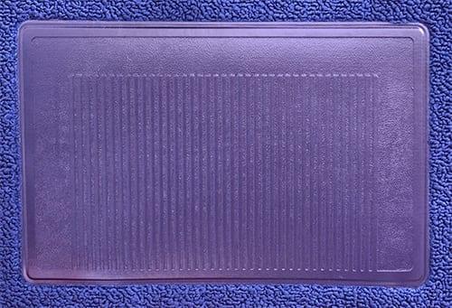 1971-1972 Dodge Dart Demon Loop Carpet Console Strip 1pc