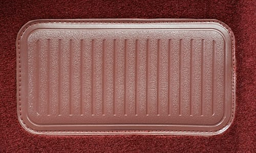 Fits Toyota Camry 1987-1991 Carpet Dash Board Cover Mat Maroon