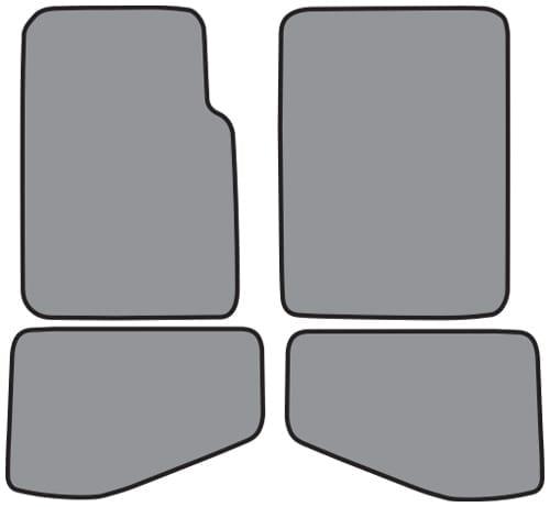 1968-1972 Buick Skylark Door Panel 8 Inch Inserts 2pc