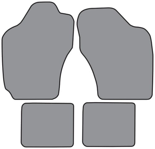 1989-1992 Geo Prizm Floor Mat 4pc (GM631)