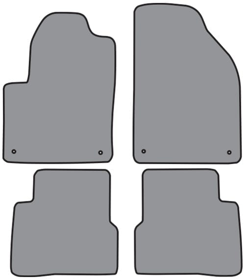 1952 1966 Gm Truck Exterior Door Handle Gasket Set