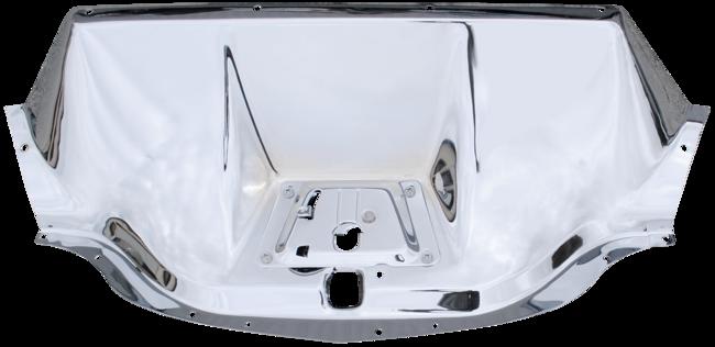 1947-1954 GM Pickup Chrome Hood Latch Panel
