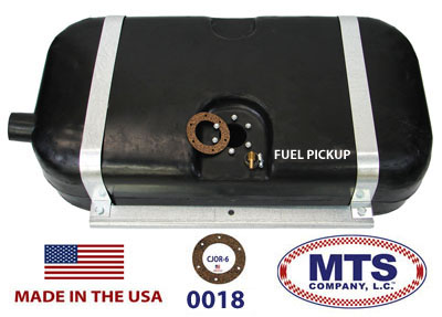 1948 1951 Willys Jeepster Polyethylene Gas Tank