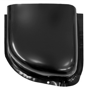 1960-1966 GM Pickup Air Vent Cowl; Lower Section, Driver Side