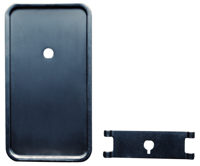 1964-1966 GM Pickup Heater Plate