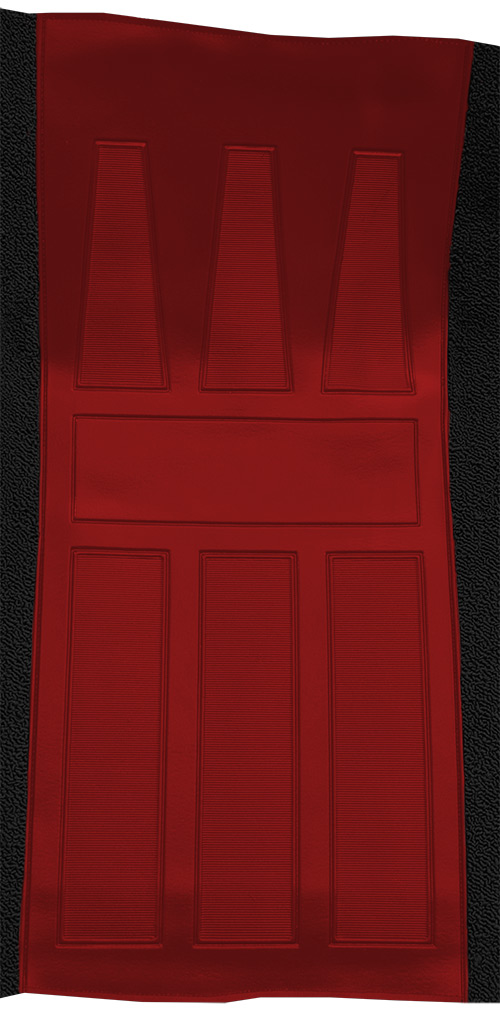 1969-1971 Ford Torino GT Auto with 2 Red Inserts Flooring insert