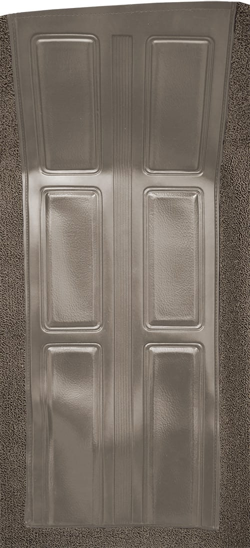 1972-1973 Mercury Montego GT with 2 Gray Inserts Flooring insert