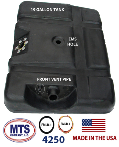 1973-1979 Ford Pickup 19 gallon tank with EMS hole on top