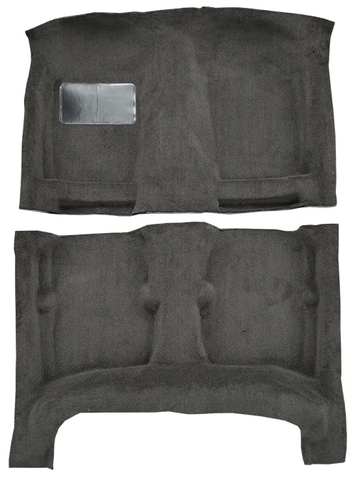 1984-1987 Toyota Corolla 4 Door Sedan without Heat Vents Under Seat Flooring