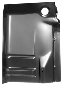 1988-1998 Chevy or GMC Pickup Complete Cab Floor with Backing Plate Passenger Side