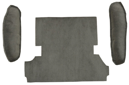 1947 53 Chevy Gmc Pickup Channel Velour Open Back Seat Cover Raybuck Auto Body Parts