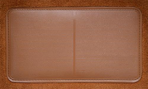 1990-1994 Suzuki Swift 2 Door Pass Area Flooring-pad
