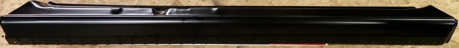 1999-2006 Chevy Silverado or GMC Sierra Rocker Panel Slip-On Passenger Side - Side View