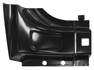 1999-2015 Ford Super Duty Pickup Lower Rear Door Pillar Super Cab Passenger Side