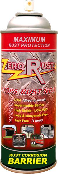 Zero Rust aerosol