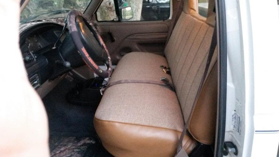 1997 Ford F250 Seat Cover