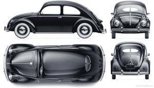 1947-1967 Volkswagen Beetle