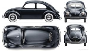 1947-1967 Volkswagen Beetle 1200 1300