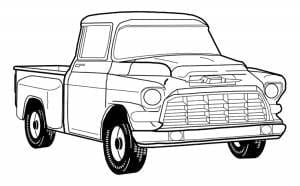 1955-1959 GM Pickup Truck 2nd Series