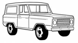 1966-1977 Fullsize Bronco
