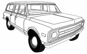 1967-1972 GM Suburban